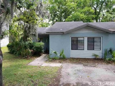 Gainesville Condo/Townhouse For Sale: 821 SW 2nd Terrace
