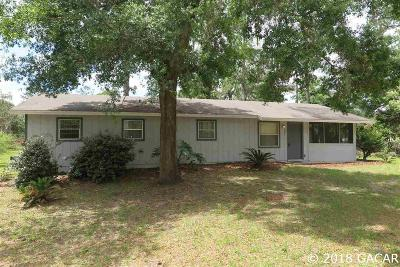 Gainesville Single Family Home For Sale: 3821 SE 17TH Avenue