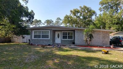 Gainesville FL Single Family Home For Sale: $107,000