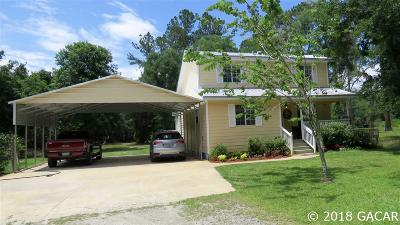 Micanopy Single Family Home For Sale: 22484 NW 87TH AVENUE Road