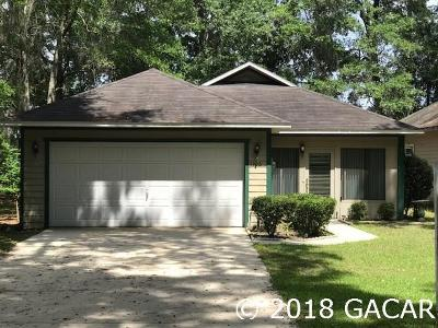Gainesville Single Family Home For Sale: 1105 SW 75TH Way