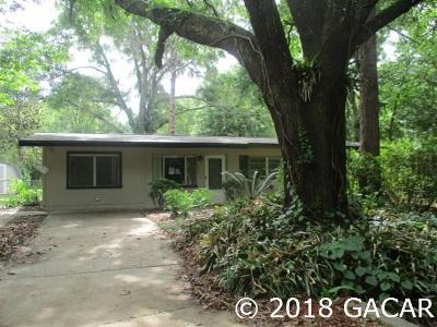 Gainesville Single Family Home For Sale: 4235 NW 21st Drive