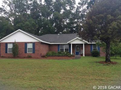 Newberry Single Family Home For Sale: 25313 SW 22ND Avenue