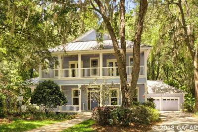 Newberry Single Family Home For Sale: 196 SW 132ND Terrace