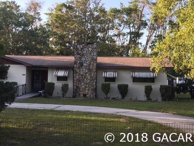 Williston FL Single Family Home For Sale: $114,999