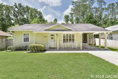 Gainesville FL Single Family Home For Sale: $155,200