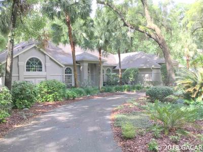 Gainesville FL Single Family Home For Sale: $575,000