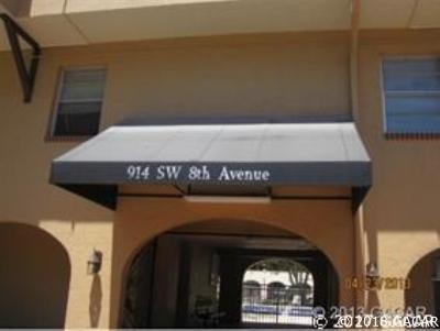 Gainesville FL Condo/Townhouse For Sale: $73,000