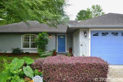 Alachua Single Family Home For Sale: 11118 NW 61st Terrace