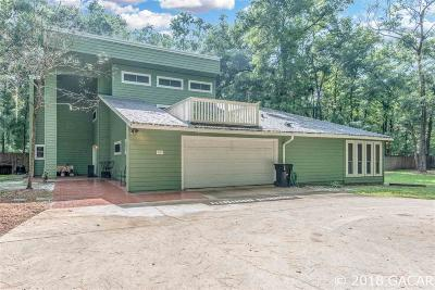 Gainesville Single Family Home For Sale: 2018 SW 88TH Street