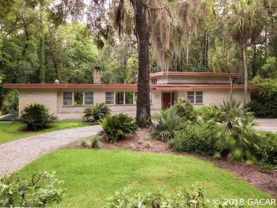 Gainesville Single Family Home For Sale: 1529 NW 38th Street