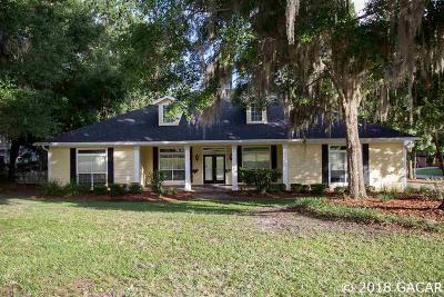 Gainesville Single Family Home For Sale: 7911 NW 56th Way