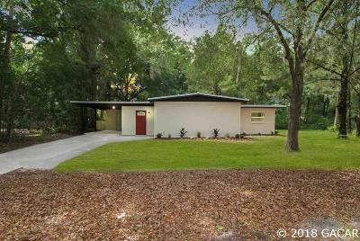 Gainesville FL Single Family Home For Sale: $195,000