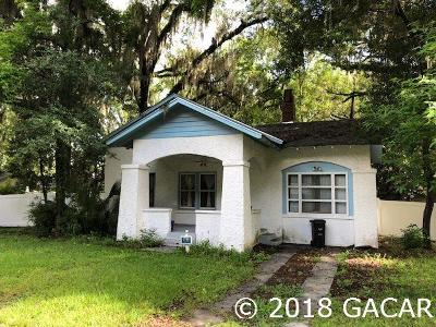 Gainesville FL Single Family Home For Sale: $319,500