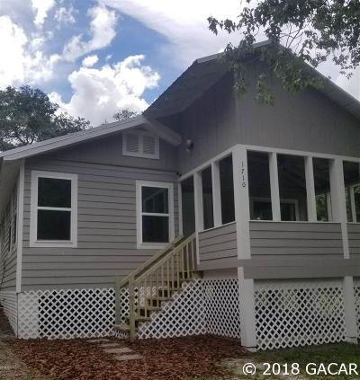 Gainesville FL Single Family Home For Sale: $94,800