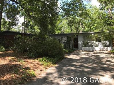 Gainesville FL Single Family Home For Sale: $247,500