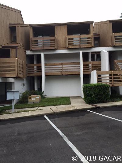 Gainesville FL Condo/Townhouse For Sale: $130,000