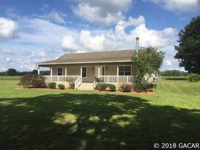 Alachua Single Family Home For Sale: 12931 NW County Road 237