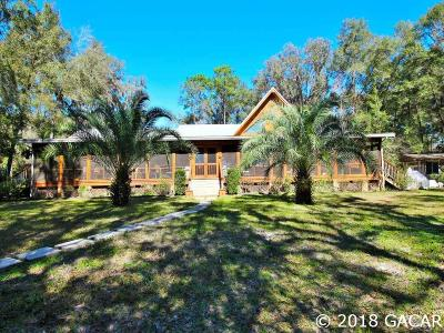 Williston Single Family Home For Sale: 16791 SE 7th Lane