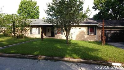 Gainesville Single Family Home For Sale: 510 NW 98th Street