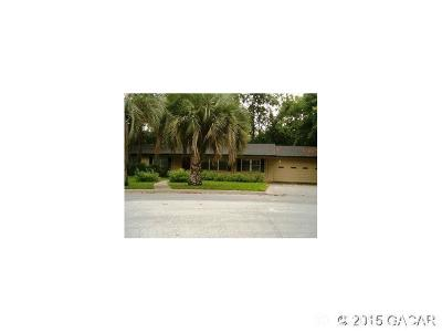 Gainesville Single Family Home For Sale: 3225 NW 26TH Avenue