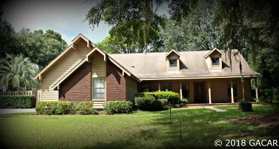 Gainesville Single Family Home For Sale: 2508 NW 28th Place