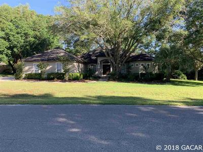 Gainesville Single Family Home For Sale: 14104 NW 15th Lane