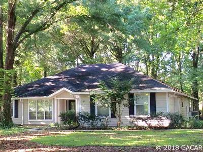 High Springs Single Family Home For Sale: 21117 NW 167th Place
