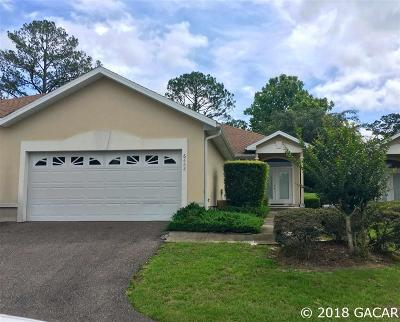 Alachua Single Family Home For Sale: 6488 NW 109TH Place
