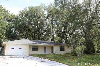 Newberry Single Family Home For Sale: 25404 SW 18th Avenue