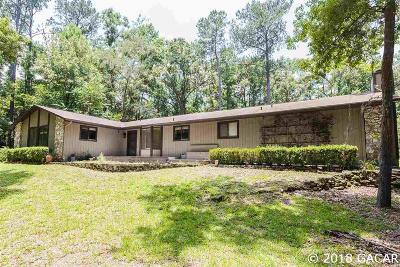 Gainesville Single Family Home For Sale: 1102 SW 96TH Street