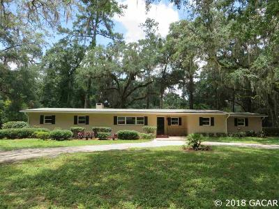 Gainesville Single Family Home For Sale: 4210 SW 2ND Avenue