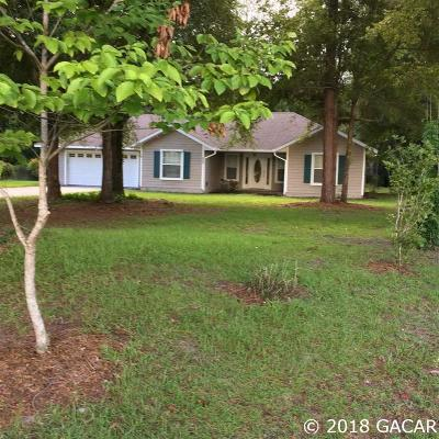 High Springs Single Family Home For Sale: 20060 NW 258th Dr