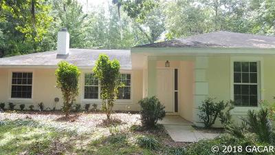 High Springs Single Family Home For Sale: 23913 NW 196th Terrace