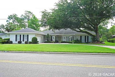 Gainesville Single Family Home For Sale: 6307 SW 35TH Way