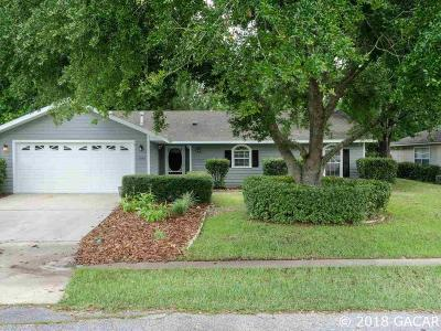 Alachua Single Family Home For Sale: 11042 NW 60th Terrace