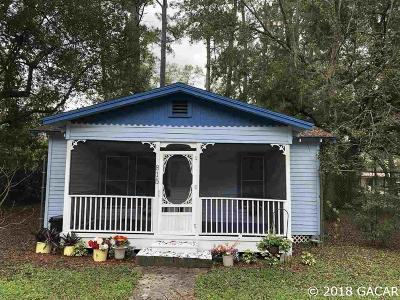 Gainesville FL Single Family Home For Sale: $96,000