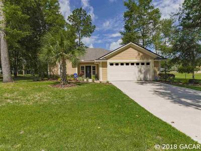 High Springs Single Family Home For Sale: 19302 NW 226th Terrace