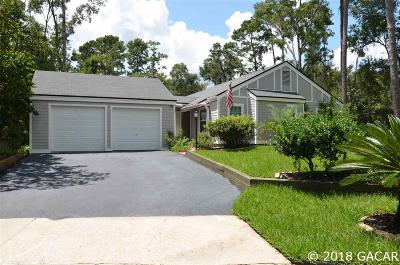 Gainesville Single Family Home For Sale: 8414 SW 54TH Lane