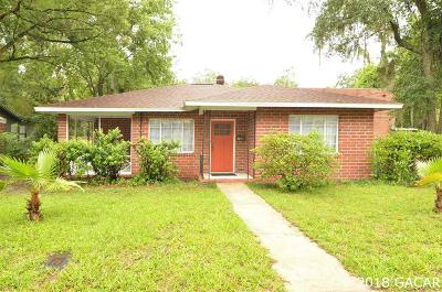 Gainesville Single Family Home For Sale: 1119 NW 4th Avenue