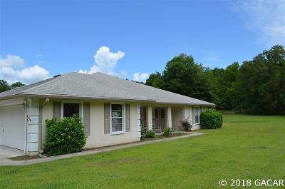High Springs Single Family Home For Sale: 2951 NE 46th Circle