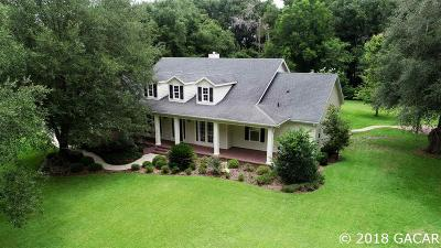 Gainesville Single Family Home For Sale: 13814 NW 15TH Lane