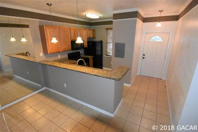 Gainesville Condo/Townhouse For Sale: 6519 W Newberry Road #B
