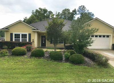High Springs Single Family Home For Sale: 19346 NW 228th Street