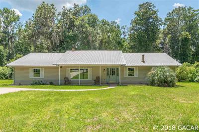 Gainesville Single Family Home For Sale: 4609 NW 103rd Lane