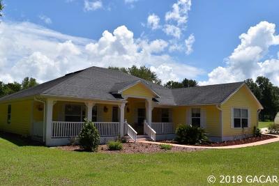 Alachua Single Family Home For Sale: 17768 NW 62 Avenue