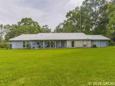 Newberry Single Family Home For Sale: 32 SW 165TH Street
