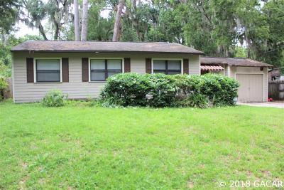 Gainesville Single Family Home For Sale: 2610 NW 4TH Avenue