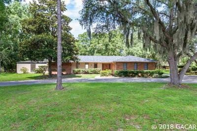 Gainesville Single Family Home For Sale: 3852 NW 36TH Street