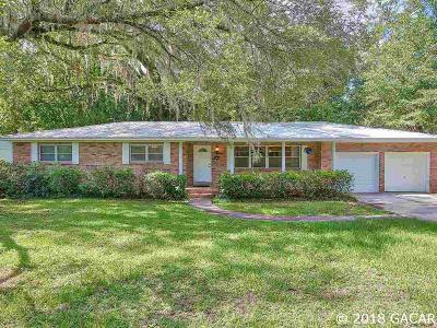 Gainesville Single Family Home For Sale: 3961 SW 5th Place